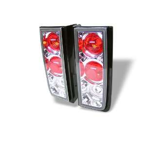 01 05 Hummer H2 Euro Taillights   Chrome Automotive