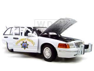 CHP FORD CROWN VICTORIA WHITE 118 HIGHWAY PATROL