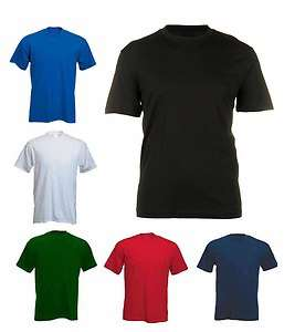 Mens Breathable Premium T Shirts Sizes XS to 4XL   WORK CASUAL SPORTS
