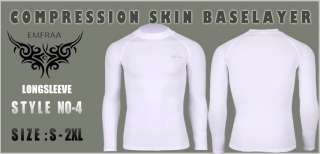 LONG SLEEVE TOP SHIRTS base layer tight skin under gear sports
