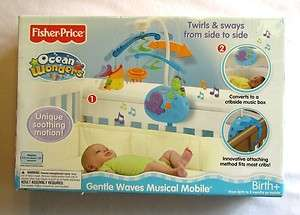 Ocean Wonders Gentle Waves Under Sea Life Creature Baby Crib MOBILE