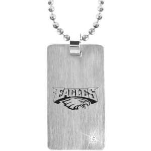 Philadelphia Eagles Dog Tag with Chain