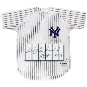 Dave Winfield New York Yankees Autographed Russell Authentic White