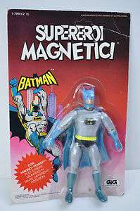 Batman   Mego / Gig 7 Magnetic Super Heroes figure 79 MOC C8 Superoi