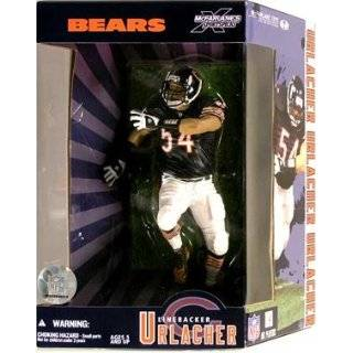 McFarlane 12 Inch NFL Brian Urlacher in Chicago Bears Blue