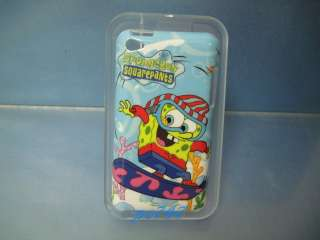 Spongebob 11 Hard Cover Case for iPod Touch 4th w/GIFT