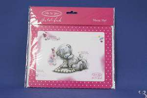 ME TO YOU COMPUTER MOUSE & MOUSE MAT TATTY TEDDY BEAR
