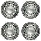 Chrome Wheel Skins Hub Cap Covers w/ Center 15 Inch