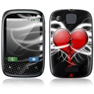 Devil Heart Design Protective Skin Decal Sticker for