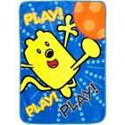 Betesh Wow Wow Wubbzy   Bedding   Ultra Soft Plush Blanket
