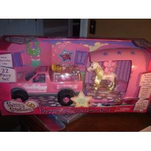 Sassy Stables Horse & Trailer Set Toys & Games