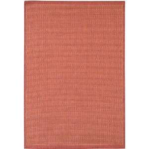 Couristan Recife Saddle Stitch 1001/4000 86 x 86 Terra