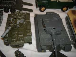 Solido Britains Army Tanks Jeeps Trucks Trailers Planes Men Toy