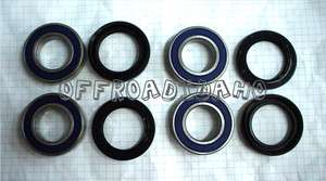 FRONT WHEEL BEARINGS YAMAHA 350 400 450 600 GRIZZLY 4WD