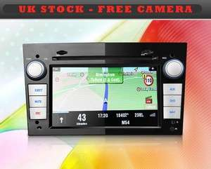 BLACK 2 Din Car DVD/GPS/3G INTERNET Player VAUXHALL ASTRA/CORSA DVB T