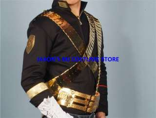 RARE MICHAEL JACKSON JAM JACKET WITH SASHES&BELT SET