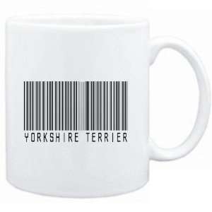Mug White  Yorkshire Terrier BARCODE  Dogs  Sports