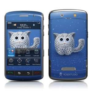 Snow Leopard Design Protective Skin Decal Sticker for BlackBerry Storm