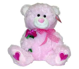 Gift Huggable Big Pink 16 Teddy Bear Stuffed Animal Plush NEW