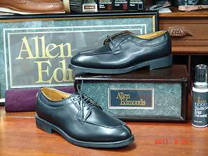 Allen Edmonds Stockbridge Shoe Black 9.5 D