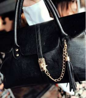 Fashion OL Lady Hobo PU Leather Handbag Purse Cluth Shoulder Bag