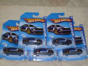 Hot Wheels Lot Of 5 2007 Ford Shelby GT500