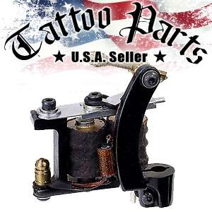 Custom Handmade Cast Iron Tattoo Machine Liner Gun
