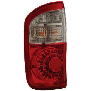Anzo USA 311060 Toyota Tundra Red/Clear LED Tail Light Assembly