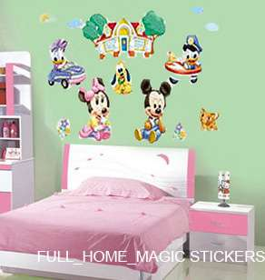 BABY MICKEY Decor Mural Art Wall Sticker Decal FREE P&P
