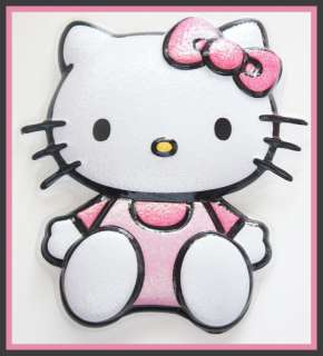 HELLO KITTY GLITTER CAKE TOPPER BIRTHDAY PARTY