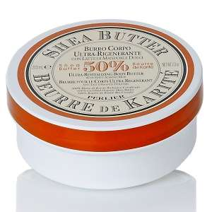Perlier Shea Butter Ultra Revitalizing Body Butter with Sweet Almond