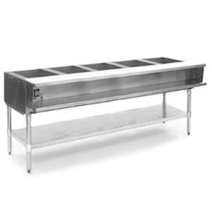 Eagle Group WT5 208 Hot Food Table 5 Wells 79 Length Electric Water