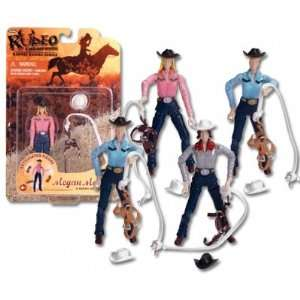 Barrel Racing Cowgirl Doll Toys & Games