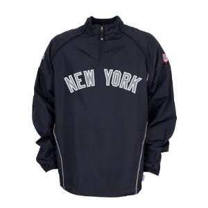 New York Yankees Jacket Navy Authentic Collection Convertible Cool