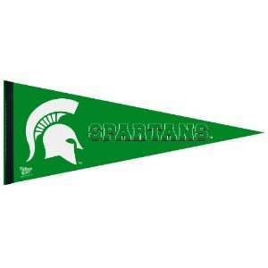 NCAA Michigan State Spartans Premium Quality Pennant 12