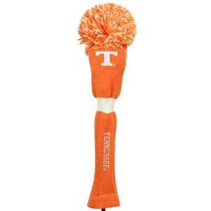 NCAA Tennessee Volunteers Tennessee Orange Pompom Golf Club Headcover