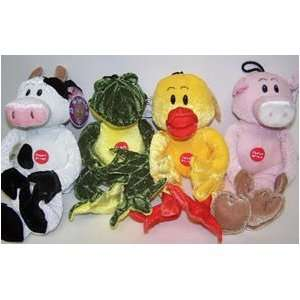 Vo Toys Soft and Cuddle Plush Animals Assorted Dog Toy
