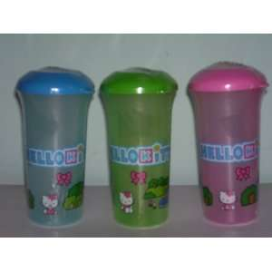 Hello Kitty Sipper Cups with Straws (Sold As a Set)