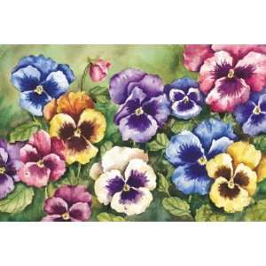 Pansy Indoor Outdoor Rug Mat