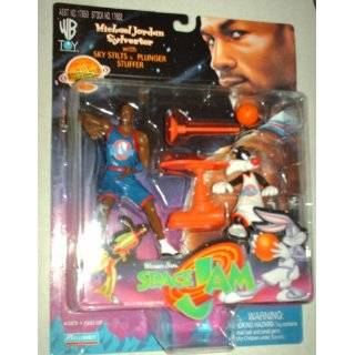 Warner Bros Space Jam Michael Jordan Action Figure Set