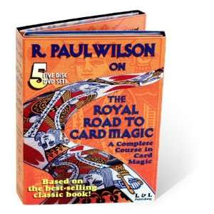 Magic DVD Royal Road To Card Magic by R. Paul Wilson