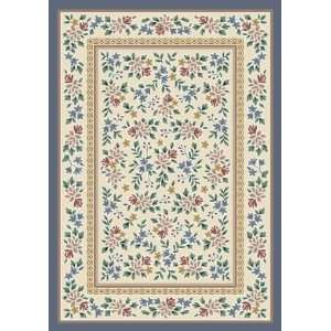 Opal Lapis Country 7.7 ROUND Area Rug