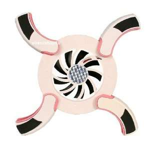 Mini Foldable 1 Fan Cooling Pad For Laptop/Notebook