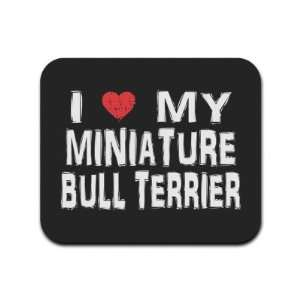 My Miniature Bull Terrier Mousepad Mouse Pad
