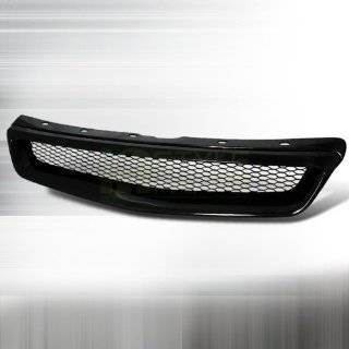 98 Honda Civic Front Type R Sport Grille Grill Kit Black Automotive