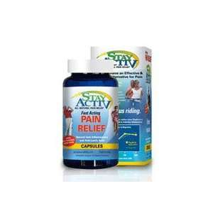 Stay Activ All Natural Pain Relief   60 Capsules (Pack of