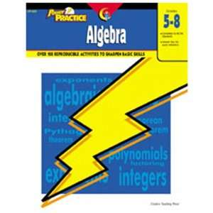 CREATIVE TEACHING PRESS POWER PRACTICE ALGEBRA GR 5 8