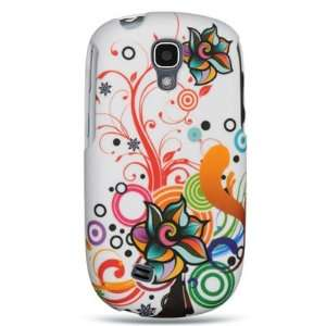 FLOWER Design Faceplate Cover Sleeve Case for SAMSUNG T589 GRAVITY