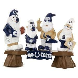 Indianapolis Colts NFL Fan Gnome Bench