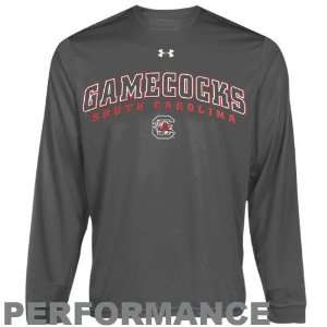 Under Armour South Carolina Gamecocks Charcoal HeatGear Training